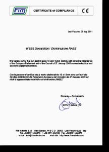 certificazione CE-WEEE-RAEE-300