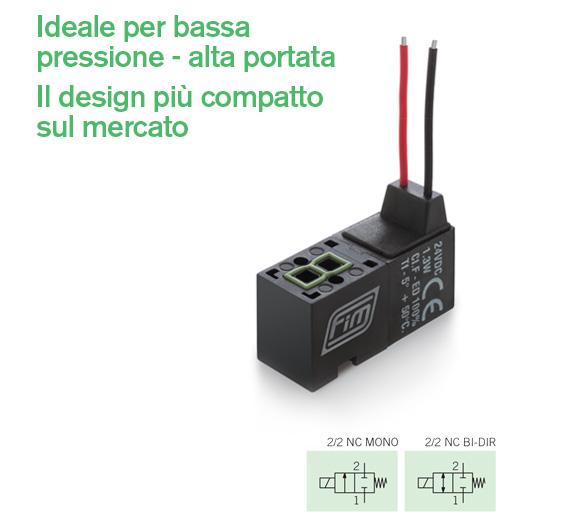 e-v-10-mm-22-hf - Ideale per bassa pressione - alta portata