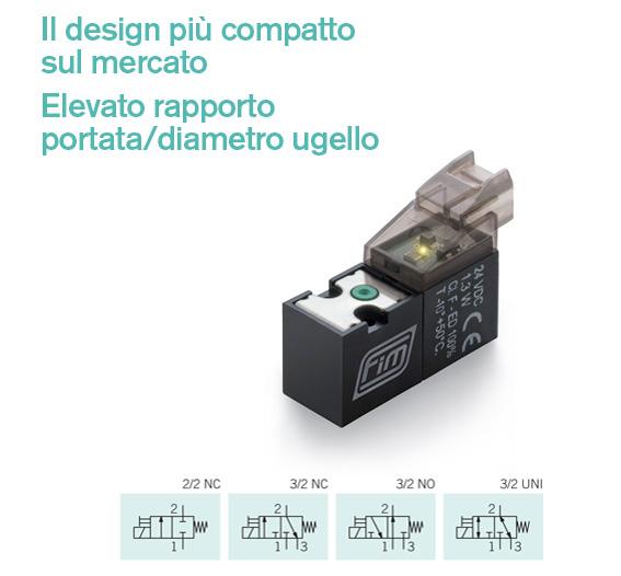 Valvola-e-v-10-mm-32-iso il design più compatto tra le microvalvole