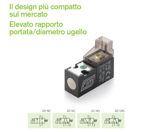 Valvola ev 10 mm 32 stda dal design compatto