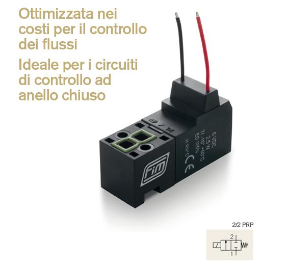 Valvole v 15mm 22 prp ideale per circuiti di controllo ad anello chiuso