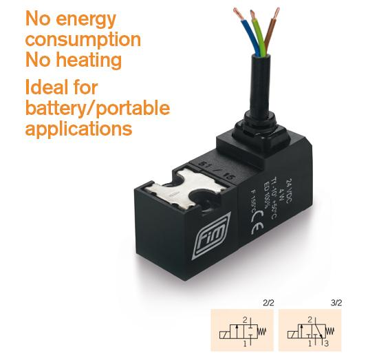 valve-v-15-mm-ltc ideal for battery portable applications