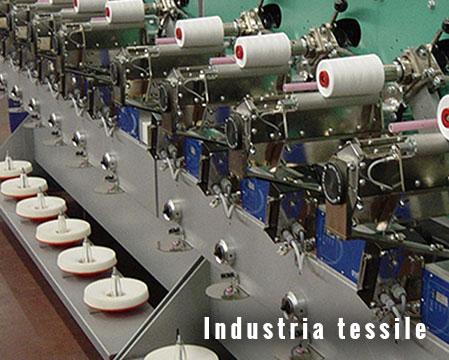 Applicazioni industria tessile elettrovalvole FIM