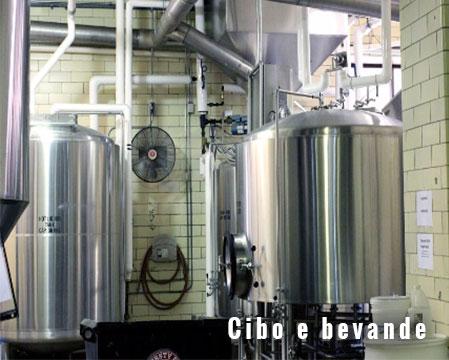 Elettrovalvole valvole a solenoide FIM nell'industria alimentare e delle bevande vitivinicola brassicola casearia