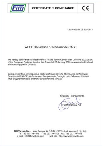CE WEEE-RAEE